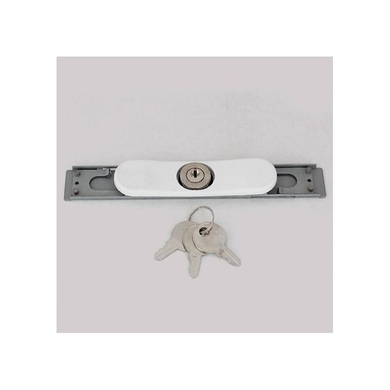 serrure clef avec plaque pour volet roulant tirage direct. Black Bedroom Furniture Sets. Home Design Ideas