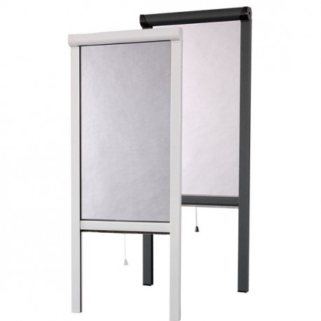 store moustiquaire enroulable en aluminium sur mesure pour porte. Black Bedroom Furniture Sets. Home Design Ideas