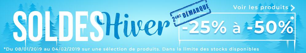 Soldes Hiver 2020 - 2ème démarque  chez Volet-Moustiquaire.com