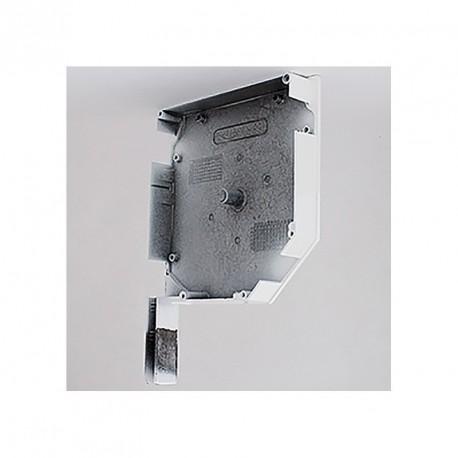 Console pour volet roulant rénovation pan coupé 45° - Droit - Coloris blanc - par Volet-Moustiquaire