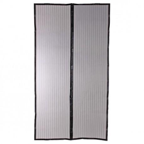 Moustiquaire rideau magn tique de porte h220xl100 cm pas cher - Fermeture magnetique porte ...