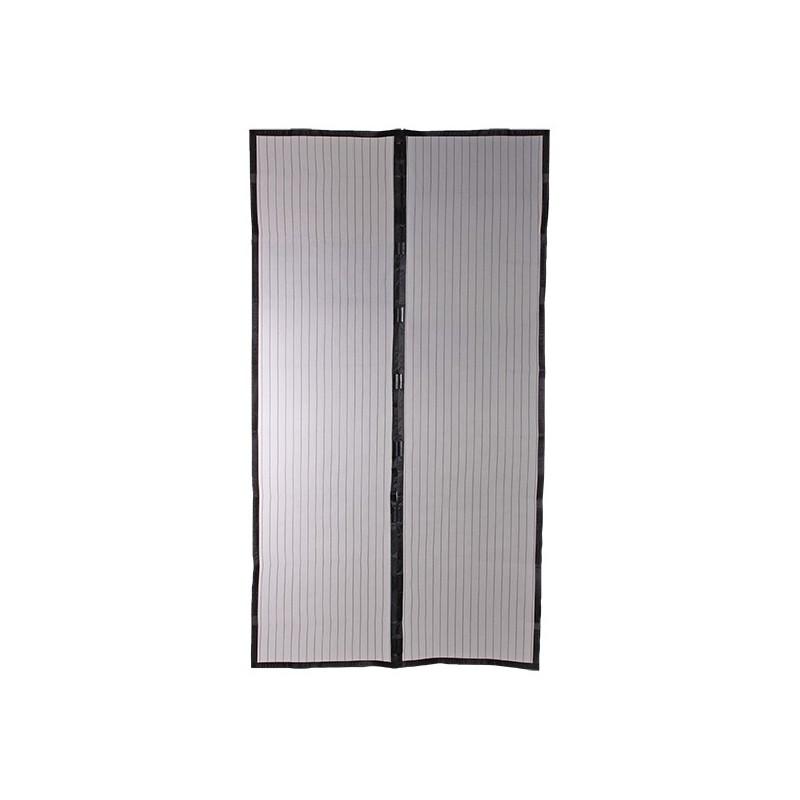 moustiquaire rideau magn tique pour porte h220xl100 cm. Black Bedroom Furniture Sets. Home Design Ideas