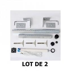 Pack de motorisation pour 2 volets roulants manuels existants long 150 cm par Volet-Moustiquaire.com
