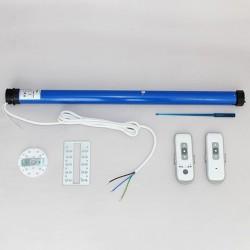 Pack Eco motorisation radio sans fil Waven avec télécommande 4 canaux chez Volet-Moustiquaire.com
