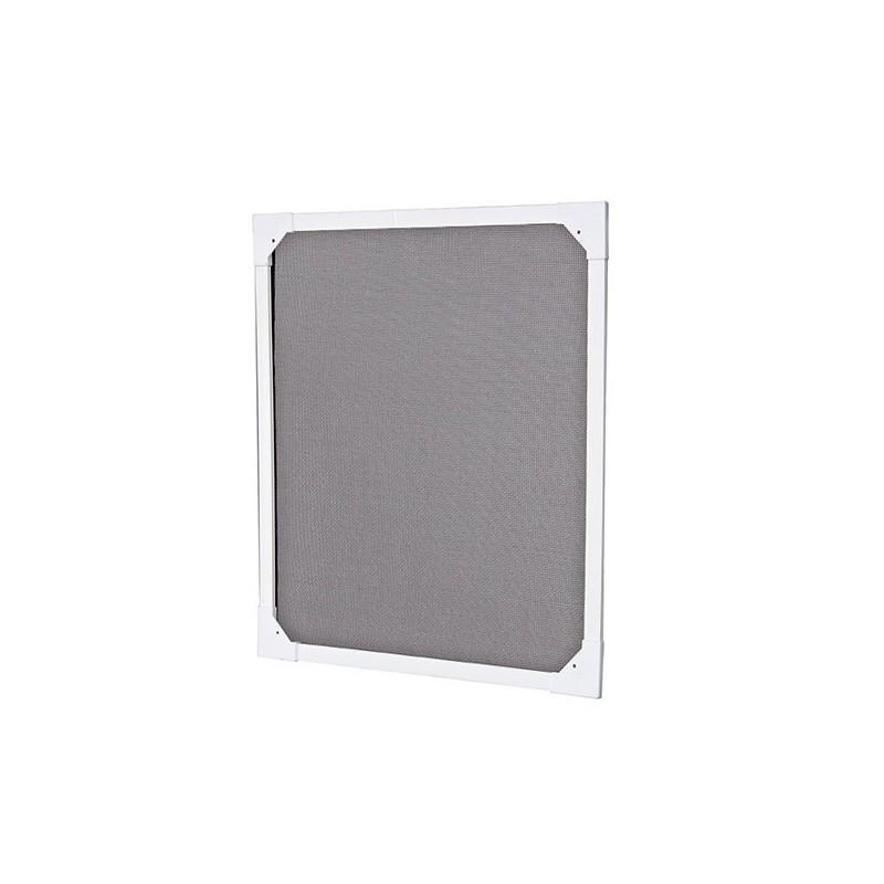 moustiquaire cadre fixe avec toile pare soleil 120cmx100cm. Black Bedroom Furniture Sets. Home Design Ideas