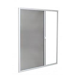 Moustiquaire Enroulable Latérale Alu H220 cm x L130 cm Blanc
