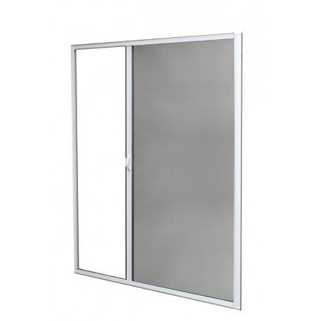 Moustiquaire Enroulable Latérale Alu H220 cm x L160 cm Blanc