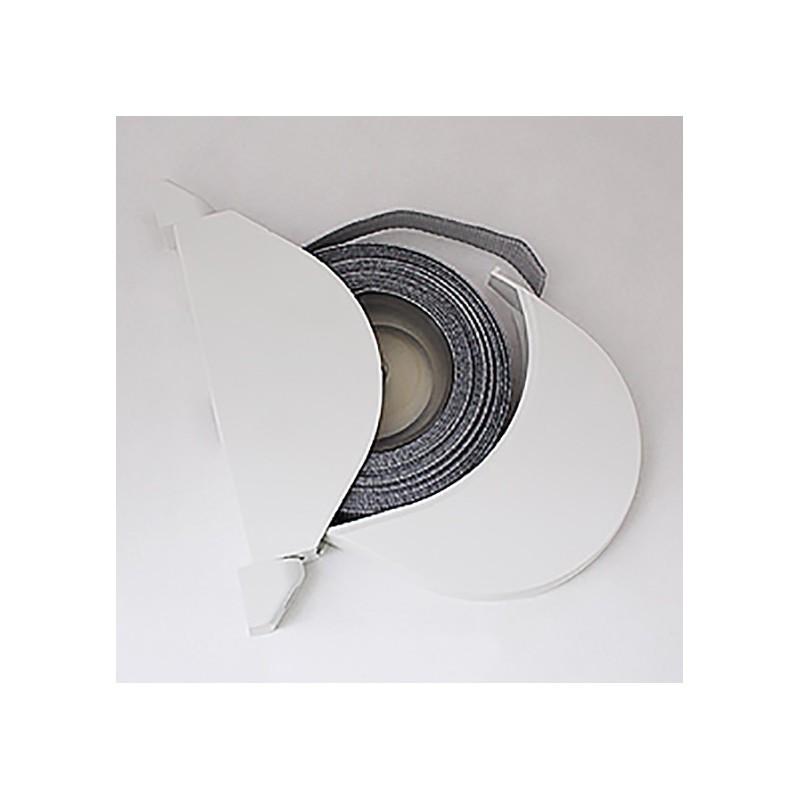 enrouleur de sangle arrondi blanc avec sangle 14mm pour. Black Bedroom Furniture Sets. Home Design Ideas