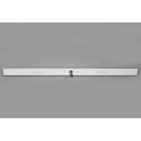 Lame intermédiaire avec Serrure Longueur 150 cm Blanc