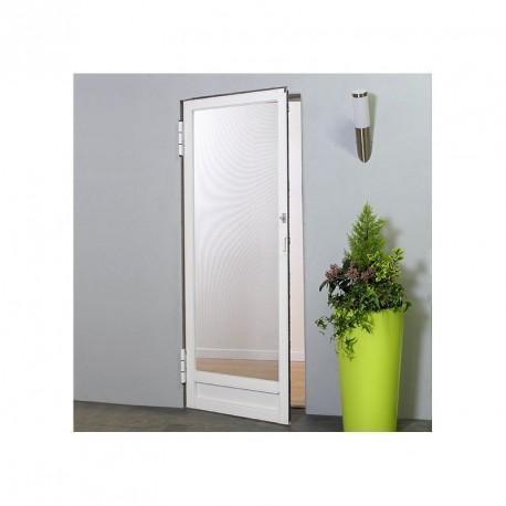Moustikit Porte Battante H240 cm x L100 cm Blanc