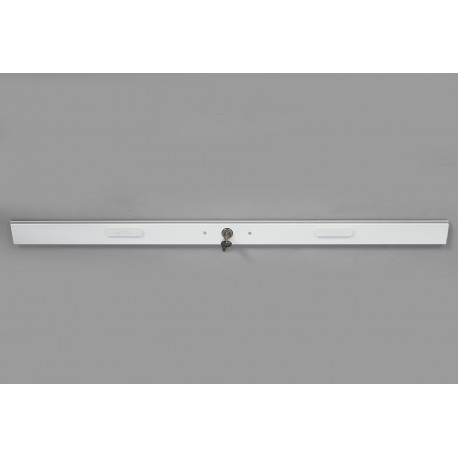 Lame Serrure Aluminium Blanc Longueur 93.5 cm