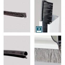 Joint brosse et frange de volet et moustiquaire sur mesure