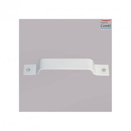 Poignée ALU, coloris blanc,  pour volet roulant à Tirage Direct