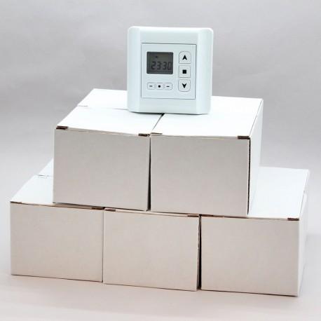 Lot de 10 horloges programmables pour volet roulant par Volet-Moustiquaire.com