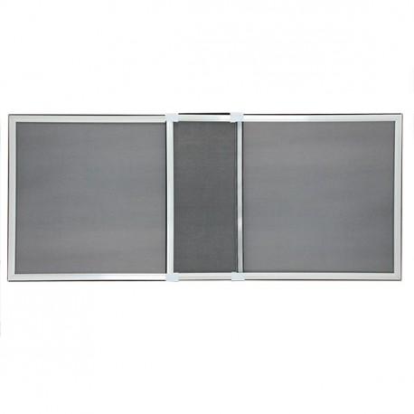 Moustiquaire Cadre Extensible pour Fenêtre H 50 cm x L 70 cm blanc chez Volet-Moustiquaire.com