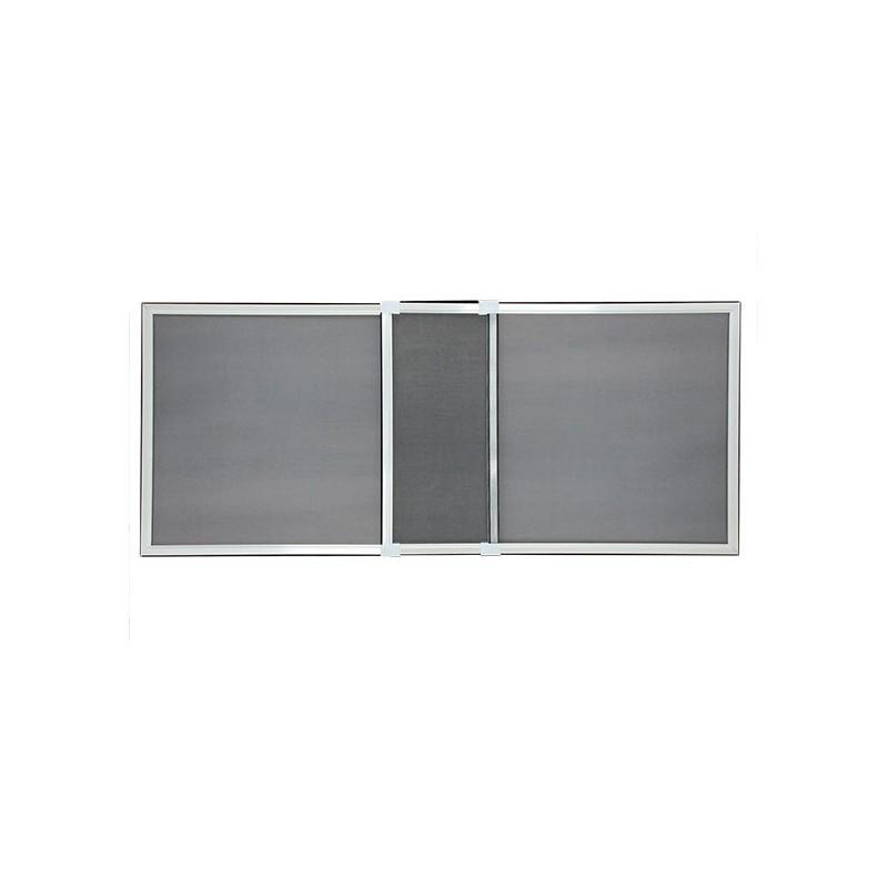 Moustiquaire Cadre Extensible Pour Fenêtre H 50 Cm X L 70 Cm Blanc