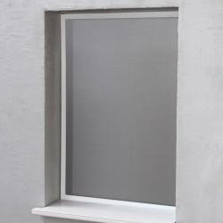 Moustiquaire Cadre Fixe Alu 100 cm x 100 cm Blanc chez Volet-Moustiquaire.com