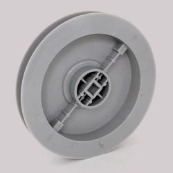 Poulie carré 10mm D155mm pour volet roulant
