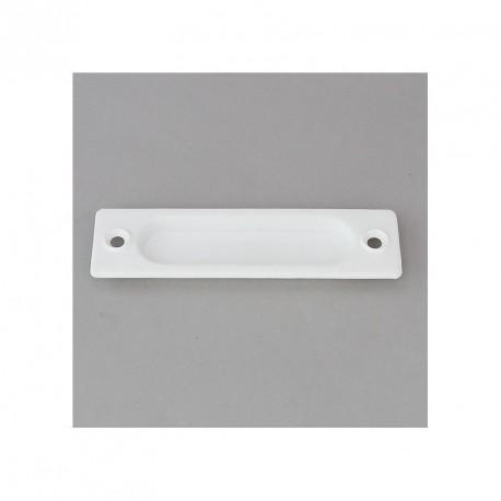 Poignée cuvette pour volet roulant tirage direct blanc par Volet-Moustiquaire.com