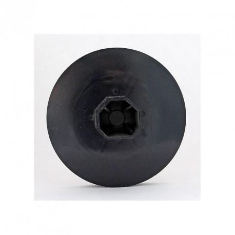Poulie diamètre 123 mm pour axe octogonale 40 mm par Volet-moustiquaire.com