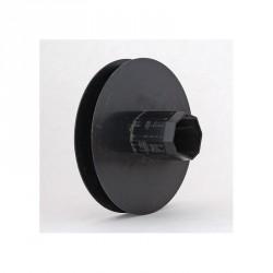 Poulie diamètre 155 mm pour axe octogonal de 40 mm