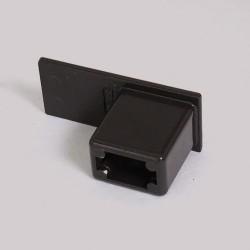 embout de coulisse en aluminium pour volet roulant. Black Bedroom Furniture Sets. Home Design Ideas