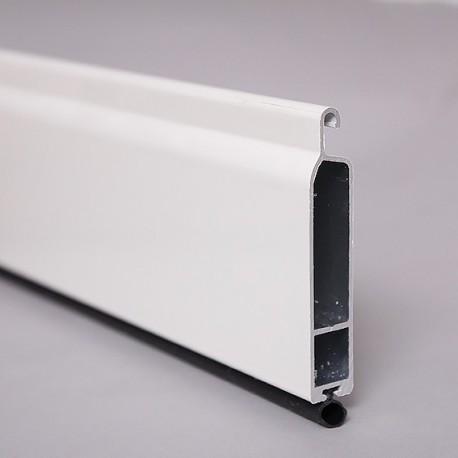 lame finale en aluminium avec joint pour volet roulant 12x65 mm. Black Bedroom Furniture Sets. Home Design Ideas