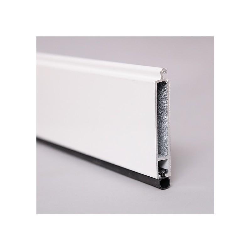 lame finale en aluminium avec joint pour volet roulant 8x51mm. Black Bedroom Furniture Sets. Home Design Ideas