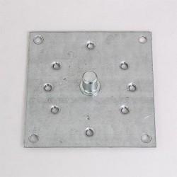Plaque support moteur 100x100