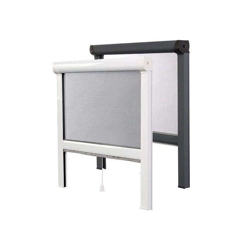 Enroulable laterale pour porte fenetre cheap large size - Moustiquaire pour porte fenetre a enroulement lateral ...