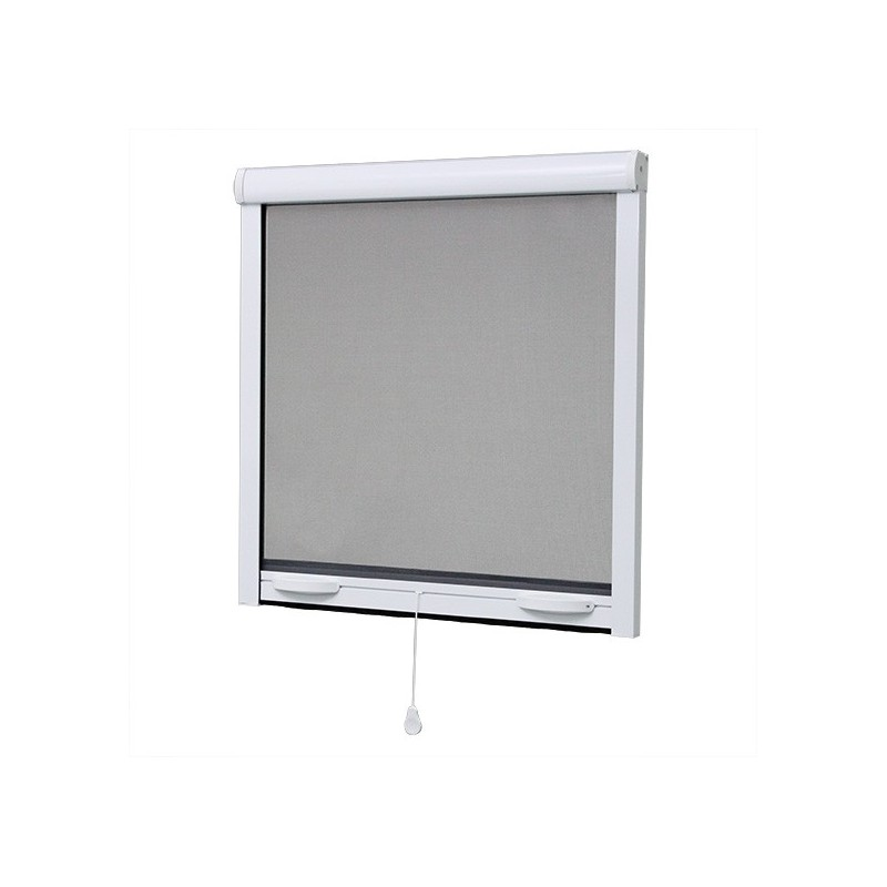 moustiquaire pour fen tre enroulable en alu x cm. Black Bedroom Furniture Sets. Home Design Ideas