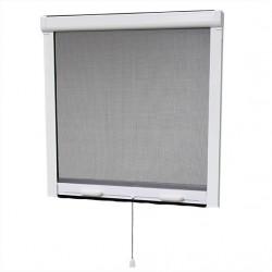 MOUSTIQUAIRE PVC ENROULABLE POUR FENETRE H.145 x L.130 cm