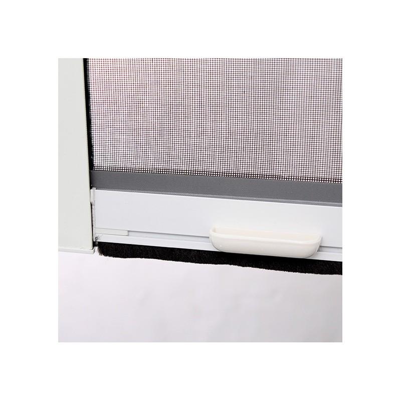 Moustiquaire enroulable verticale pvc x cm for Silicone pour fenetre pvc