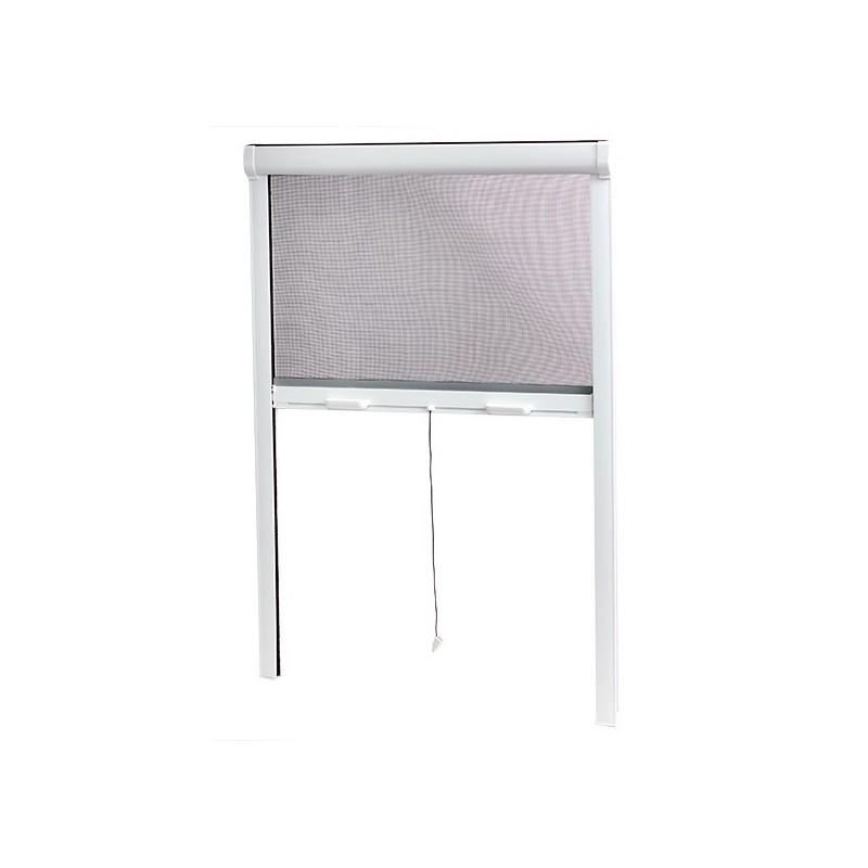 moustiquaire enroulable verticale pvc x l 100 cm pour fenetre sur volet. Black Bedroom Furniture Sets. Home Design Ideas
