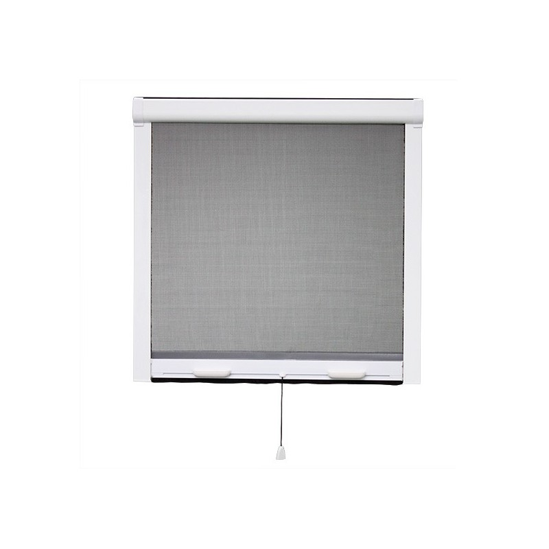 Moustiquaire enroulable verticale pvc x cm for Fenetre 100 x 80
