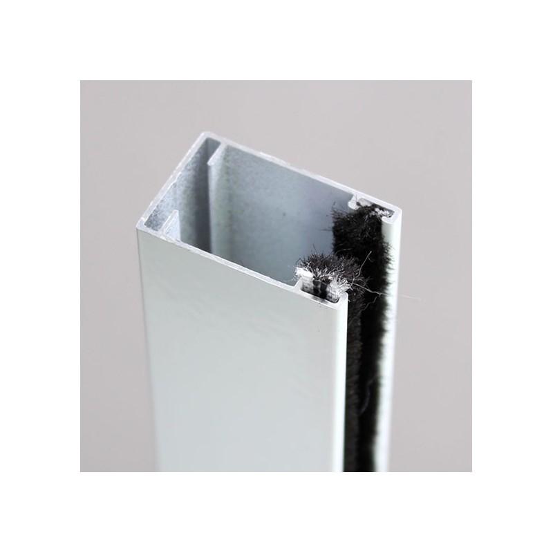 Moustiquaire enroulable pour porte et porte fenetre en alu x cm Moustiquaire pour porte fenetre