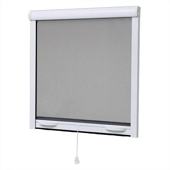 Moustiquaire recoupable ajustable pour fenêtre, porte et baie vitrée