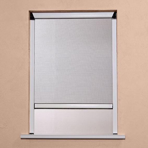 Moustiquaire Enroulable ALU H160xL150 Blanc