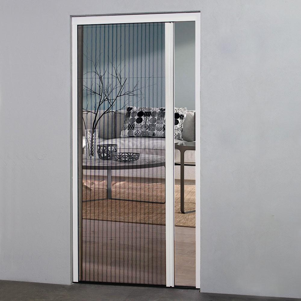 Moustiquaire Plissée ouverture latérale pour Porte, H