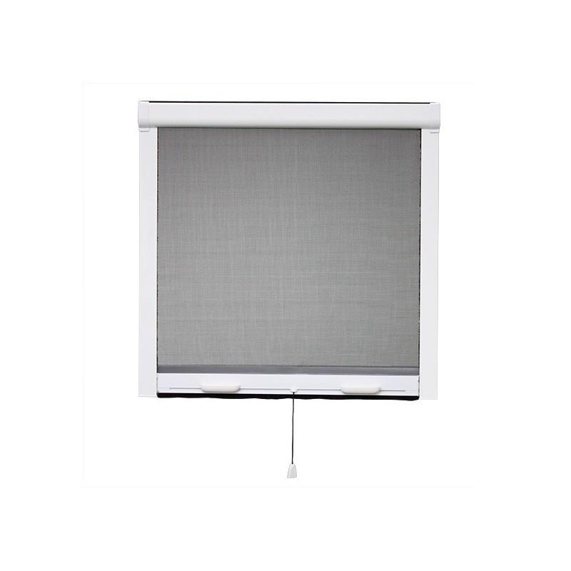 Moustiquaire PVC enroulable verticale fenêtre L 80 cm