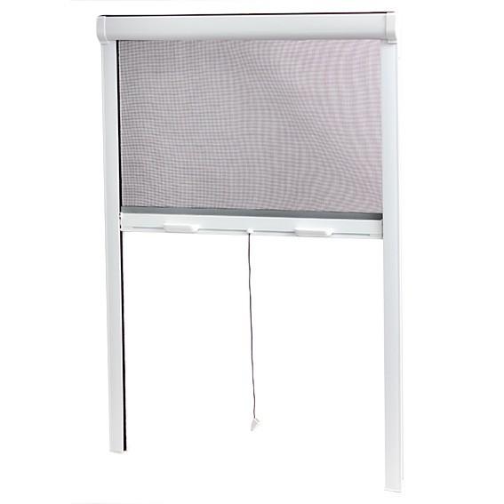 MOUSTIQUAIRE ENROULABLE PVC POUR FENETRE DE GRANDE DIMENSION H.170 x L.160 cm